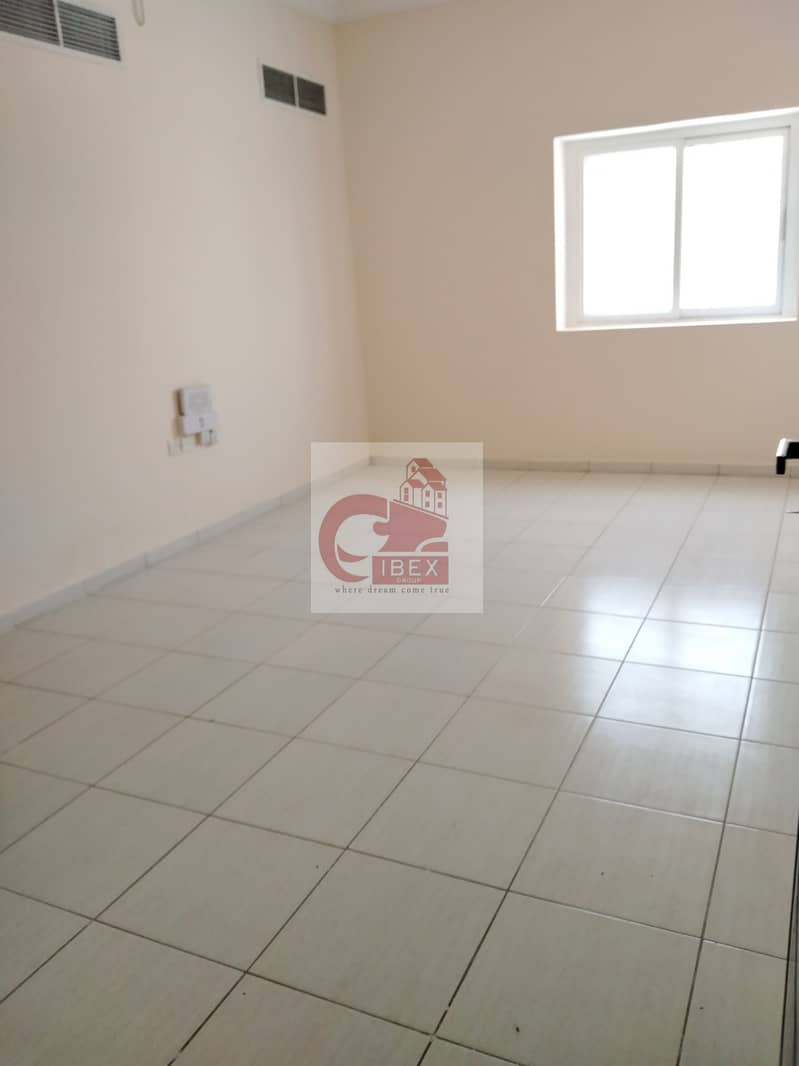 2 1/Month free Real Size 1-BHK just 19k central ac on the road Muwaileh