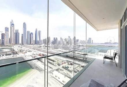 فلیٹ 4 غرف نوم للبيع في دبي هاربور، دبي - 50/50 Payment Plan | Private Beach Access