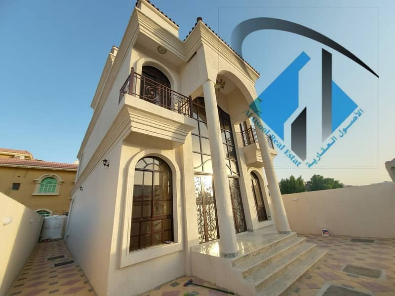 new villa nearby main road For Sale In Al mowihat Area Very Good Price and big build up area.