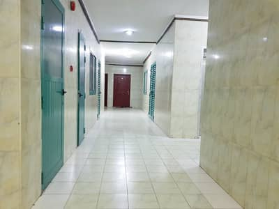 900 sq-ft, window a/c 1bhk with balcony in al Nabba area rent 15k in 4/6 cheqs