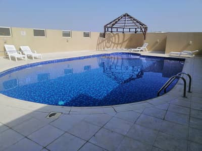 1 Bedroom Apartment for Rent in Al Warqaa, Dubai - CHEAPEST 1BHK WITH GYM|POOL|JUST 28K. . . . .