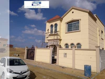 5 Bedroom Villa for Sale in Al Yasmeen, Ajman - Excellent brand new ground floor Villa on the main road big central A/C.