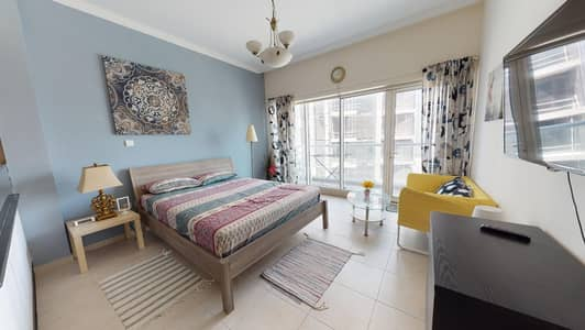 Studio for Rent in Downtown Dubai, Dubai - Furnished   City views   Move-in ready