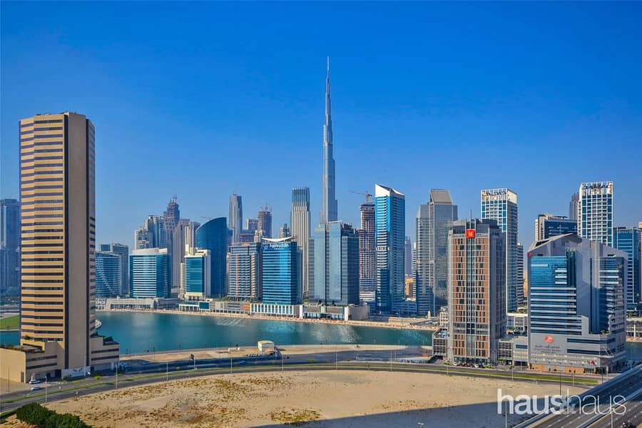 Great Burj views | Modern finishes | Large balcony