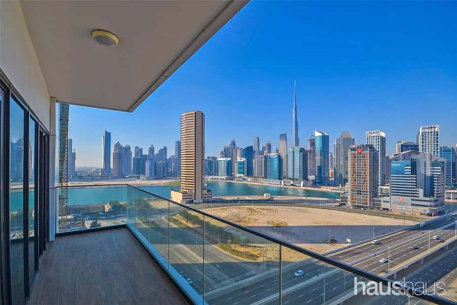 10 Great Burj views | Modern finishes | Large balcony