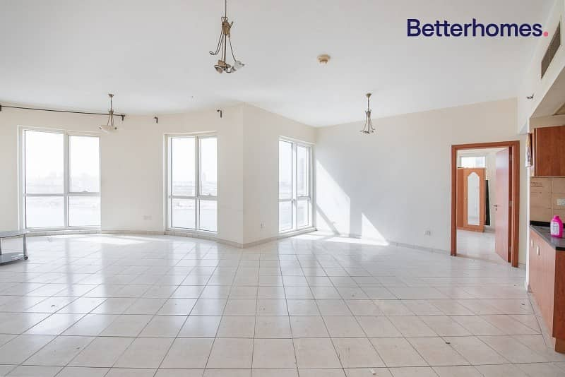 Large Unit | Mid Floor | Rented for 55k