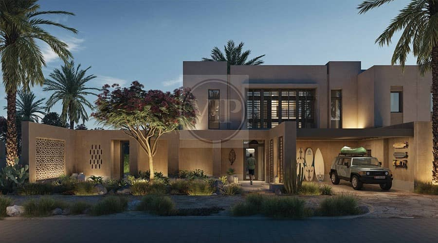 Semi Detached Luxurious 2 BR Villa with Post-Handover Plan