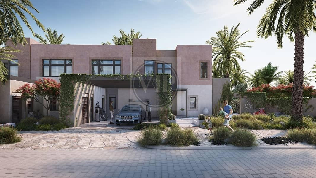 2 Semi Detached Luxurious 2 BR Villa with Post-Handover Plan