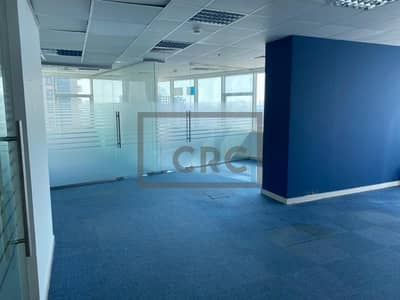 Office for Rent in Jumeirah Lake Towers (JLT), Dubai - Two Fitted units for lease with partitions