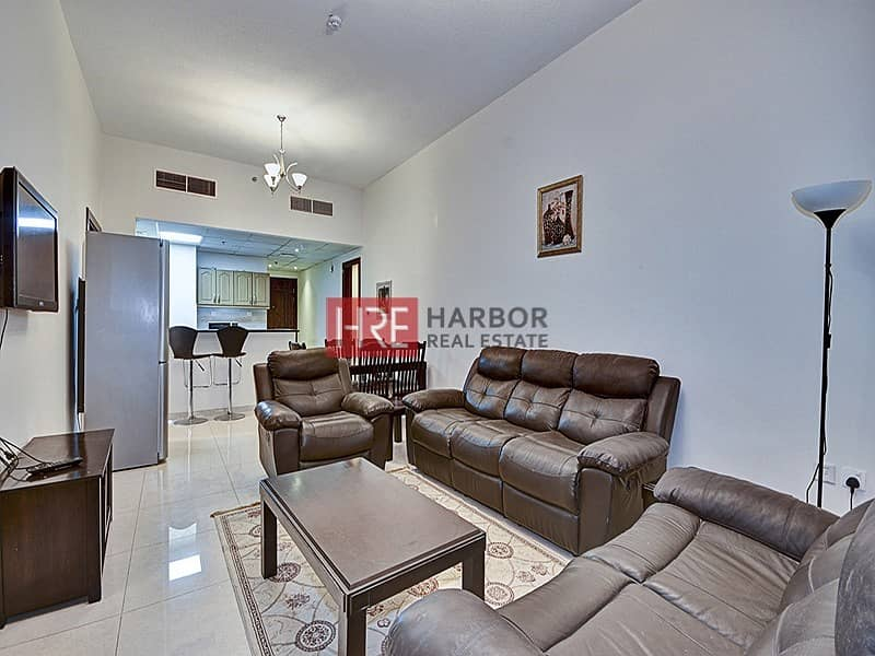 Fully Furnished 2BR | Multiple Chqs | Open View