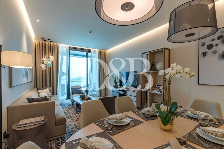 Luxury 1 BR Apartment With Full Sea View