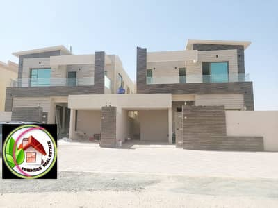 5 Bedroom Villa for Sale in Al Mowaihat, Ajman - For sale, a modern villa, personal finishing, in front of the Ajman Academy, without down payment save