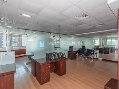 Office for Sale in Jumeirah Lake Towers (JLT), Dubai - Furnished Office Space?Fully Fitted?Close to Metro