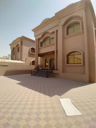 5 Bedroom Villa for Sale in Al Rawda, Ajman - Villa for sale with water and electricity, second piece of the street, new construction age