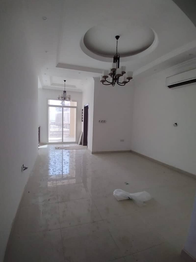 An extension for rent with air conditioners, the first inhabitant of the first floor only of a two-story villa