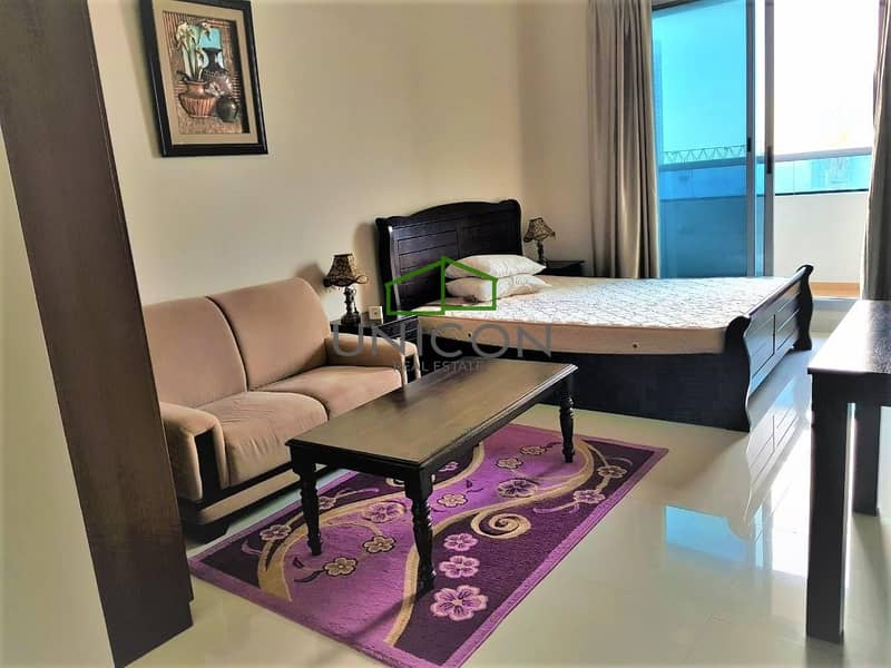 Fully Furnished Studio Elite Residence-1
