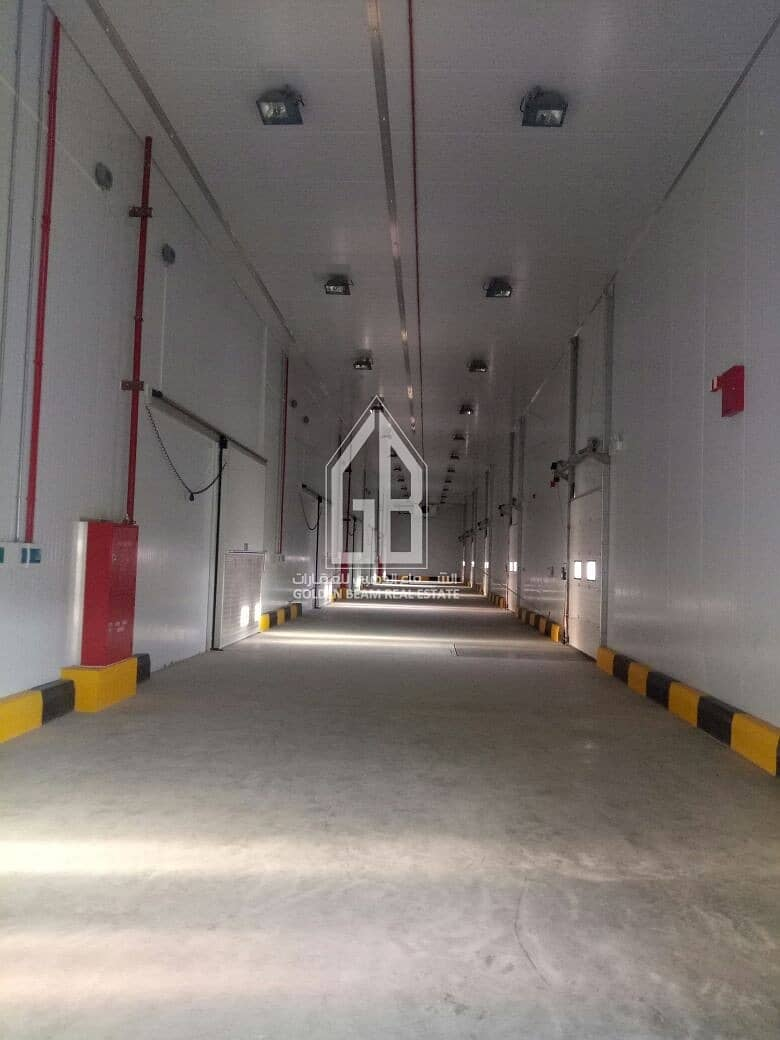 10 FOR SALE - SEVEN (7)COLD STORAGE WAREHOUSES  AND SIX (6) OFFICES  - DUBAI INDUSTRAIL CITY (SAIH SHUAIB 2)