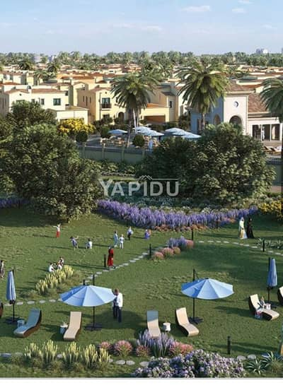3 Bedroom Townhouse for Sale in Dubailand, Dubai - 3 bedroom townhouse near completion in Amaranta
