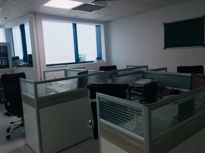 Office for Rent in Al Rashidiya, Ajman - HUGE OFFICE FOR RENT AT FALCON TOWERS AED 20,000/-