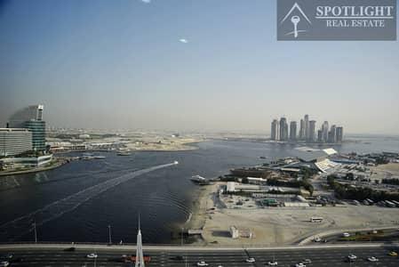 3 Bedroom Flat for Rent in Culture Village, Dubai - 3bhk apart/maids room/full creek facing view