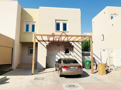 فیلا 4 غرف نوم للايجار في الريف، أبوظبي - Vacant! Single row corner 4BR w/ 2chqs