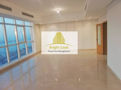 3 Bedroom Apartment for Rent in Corniche Road, Abu Dhabi - Breathtaking Sea View  with Maid's Room  Gym & Parking   135