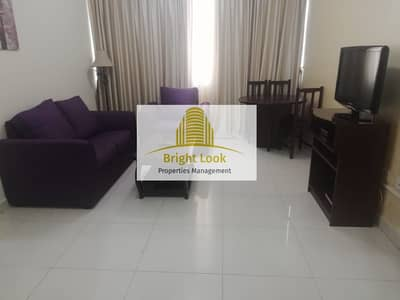 1 Bedroom Flat for Rent in Al Nahyan, Abu Dhabi - Fully Furnished  1 BHK with Free Electricity