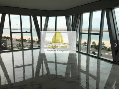 3 Bedroom Flat for Rent in Corniche Road, Abu Dhabi - Breathtaking Sea View  with Maid's Room| Gym| Parking | 120