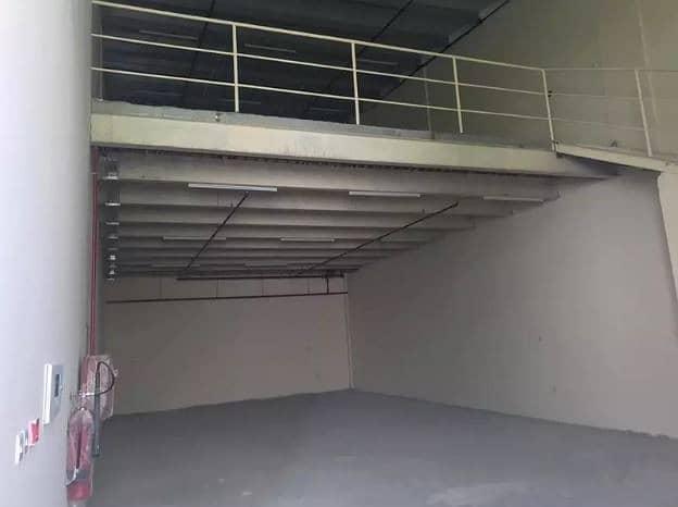 Warehouse with mezzanine for rent in al jurf ajman