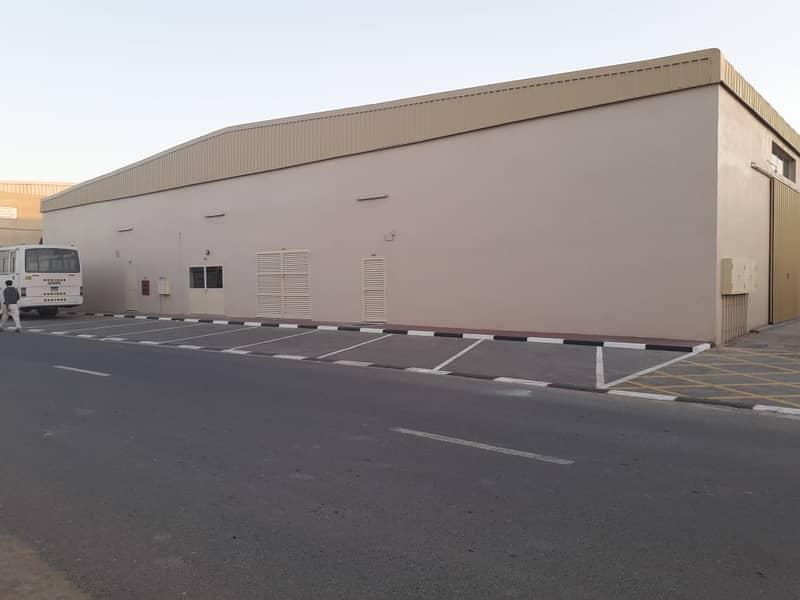 18000 sqft. Warehouse for rent in al jurf industrial ajman