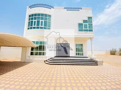 5 Bedroom Villa for Rent in Al Khalidiya, Al Ain - Separate Entrance Duplex villa 5 Master Bedrooms