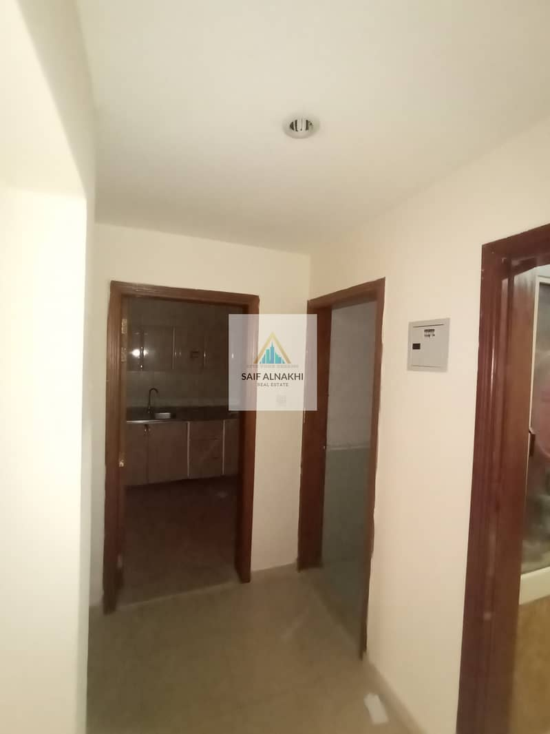 2 Very Nice 1BHK just 18k Central AC Good For Family in National paint Muwaileh