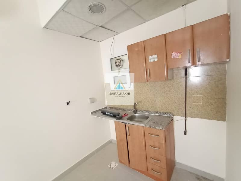 11 Best Studio Apartment just 11k SEPRATE kitchen Good Building In National paint Muwaileh