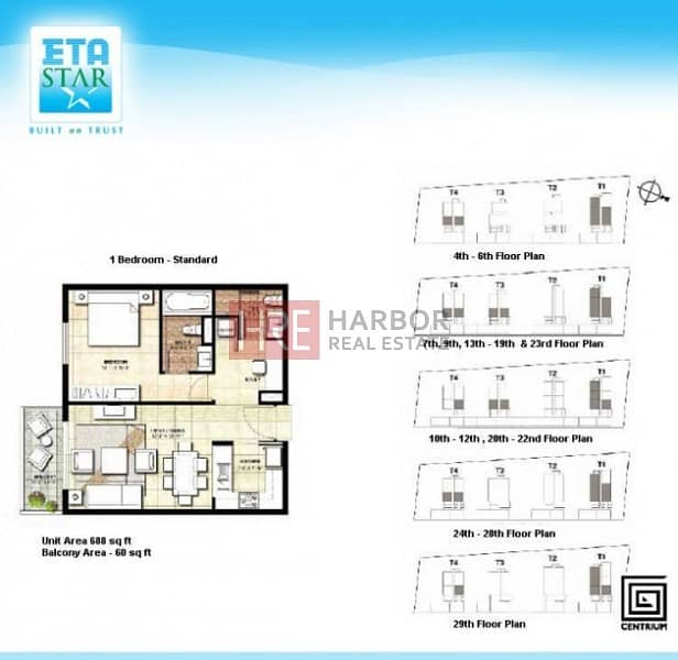 15 High Floor|Semi-Closed Kitchen|Up to 6 Chq Option