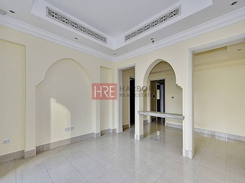 2 Bright & Large 1BR + Maid's Room Private Garden