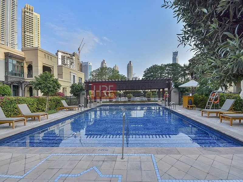 15 Bright & Large 1BR + Maid's Room Private Garden
