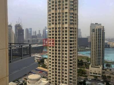 فلیٹ 2 غرفة نوم للبيع في وسط مدينة دبي، دبي - Fountain /  Boulevard View | Ready to Move In|
