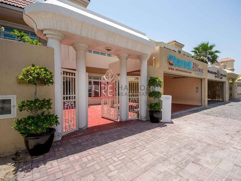 12 Cheques Payment | Commercial Villa For Rent