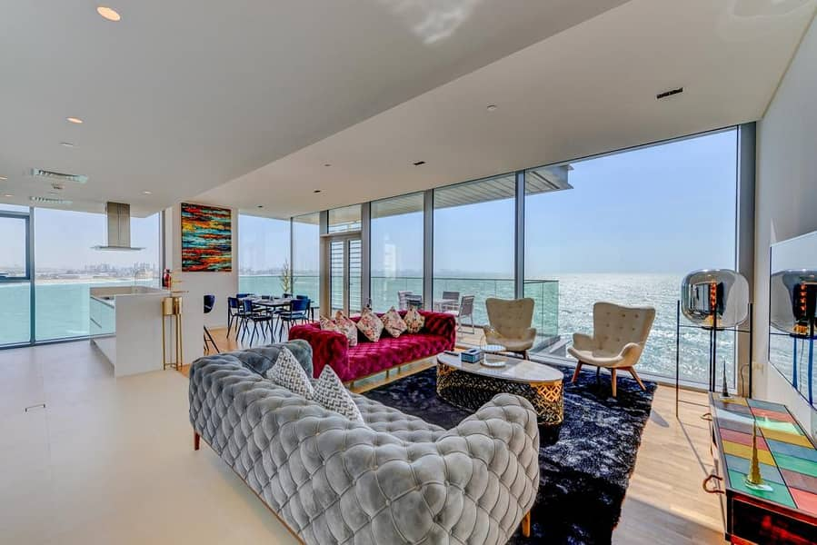 Spectacular View | Fully Furnished | 4 Bedroom plus Maids Save