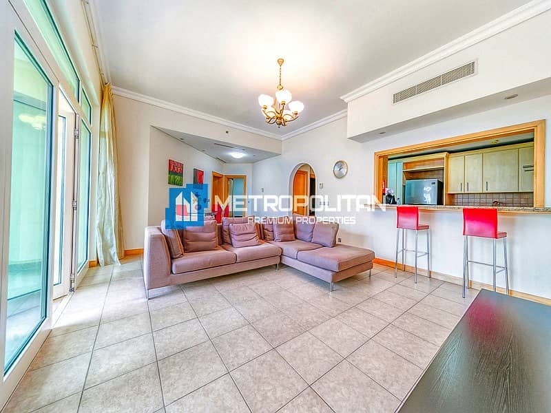 1 Close to Nakeel mall furnished 2 bedroom Apartment