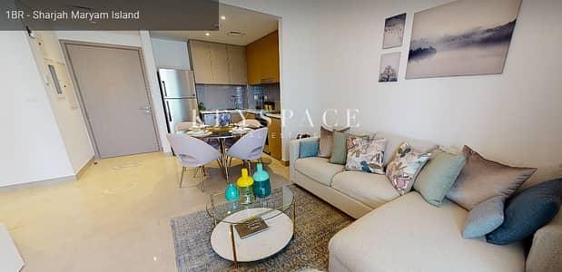 1 Bedroom Apartment for Sale in Al Khan, Sharjah - Breath taking ViewsDowntown SharjahBeachfront ResidencesReady Soon