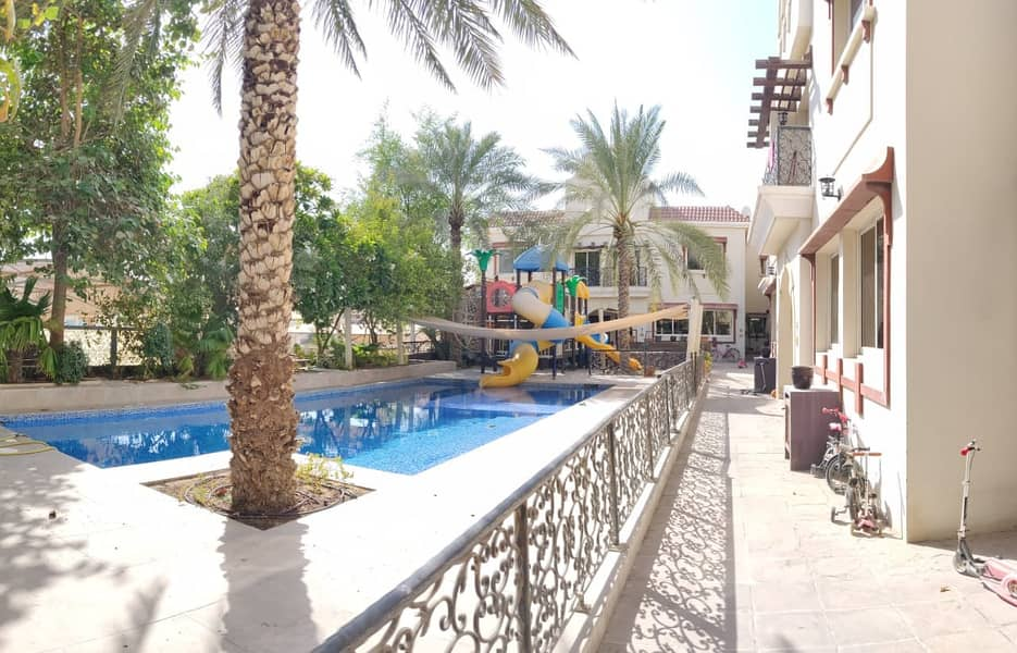 Outstanding High Quality  villa  |  3 B/R  + Maid Room | Swimming Pool | GYM