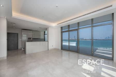 فلیٹ 2 غرفة نوم للبيع في نخلة جميرا، دبي - Resale| Exceptional Layout and Finishes | Sea View