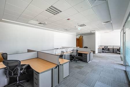 مکتب  للايجار في مركز دبي المالي العالمي، دبي - Combined Fitted Office | Furnished | Fitted