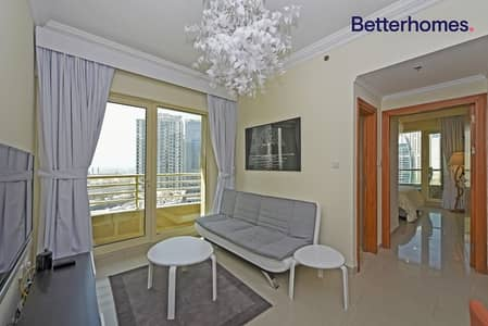 1 Bedroom Flat for Sale in Dubai Marina, Dubai - Marina View Furnished 1 Bed in Manchester Tower