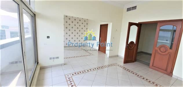 3 Bedroom Flat for Rent in Eastern Road, Abu Dhabi - Great Location in Khalifa Park | Large 3-bedroom Unit | Maids Rm | Parking