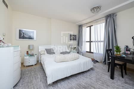 Furnished 1 Bed Apt | Sea View | Mid Floor