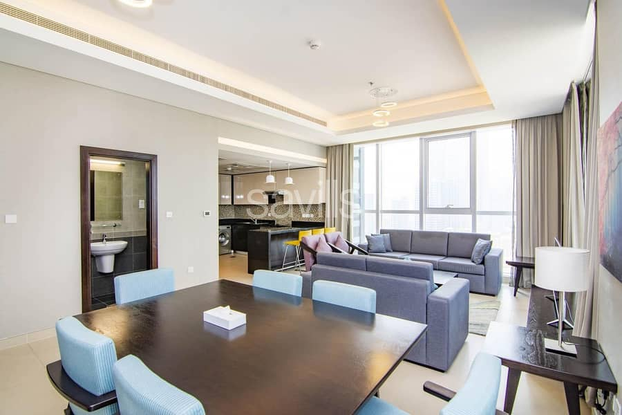 Fully Furnished and Serviced 2 Bedroom in Corniche