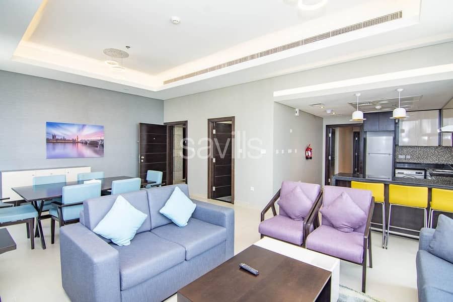 2 Fully Furnished and Serviced 2 Bedroom in Corniche
