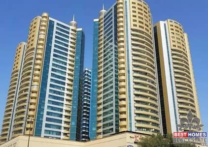 2 Bedroom Flat for Rent in Ajman Downtown, Ajman - Spacious 2 Bed Room Apartment with Sea View